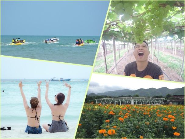 泰國遊山玩水五日遊